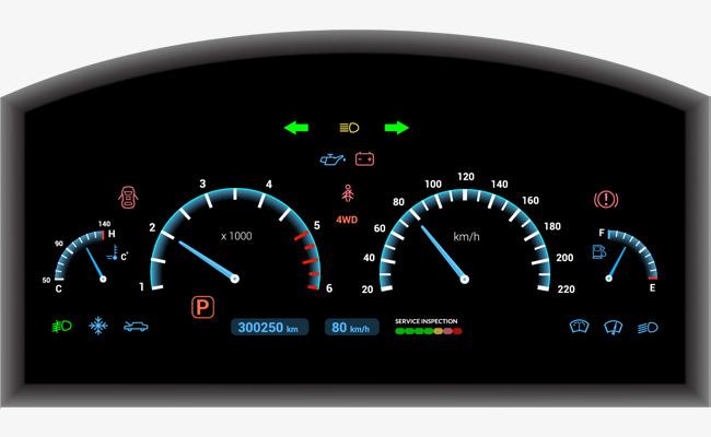 650x400 Vector Black Car Dashboard, Car Clipart, Dash Board, Car Png And