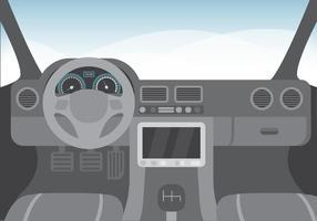 286x200 Car Dashboard Free Vector Art