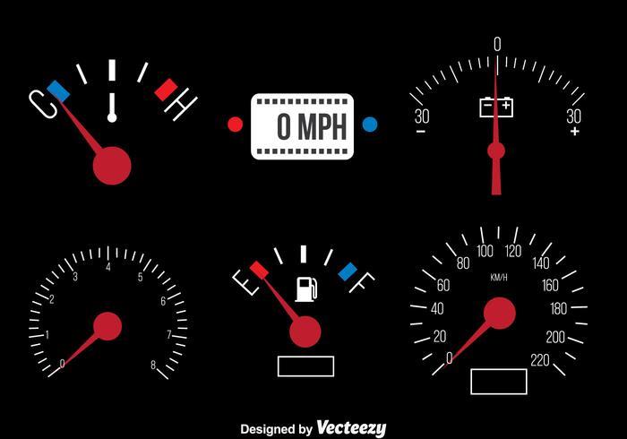 700x490 Car Dashboard Vector