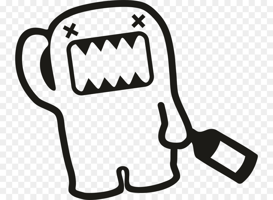 900x660 Domo Sticker Decal Vector Graphics Japanese Domestic Market