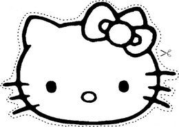 260x184 Download Hello Kitty Car Decal Vector Clipart Hello Kitty Decal