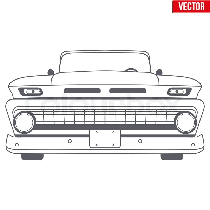 Car Front Vector At Getdrawings Com Free For Personal Use Car