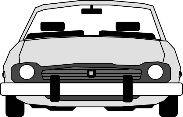 600x384 Car Front View Clip Art Free Vector In Open Office Drawing Svg
