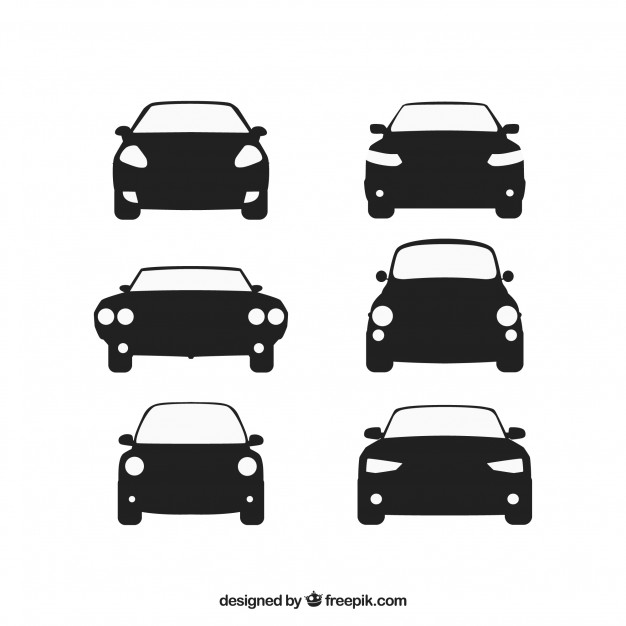 626x626 Front View Of Cars Vector Free Download