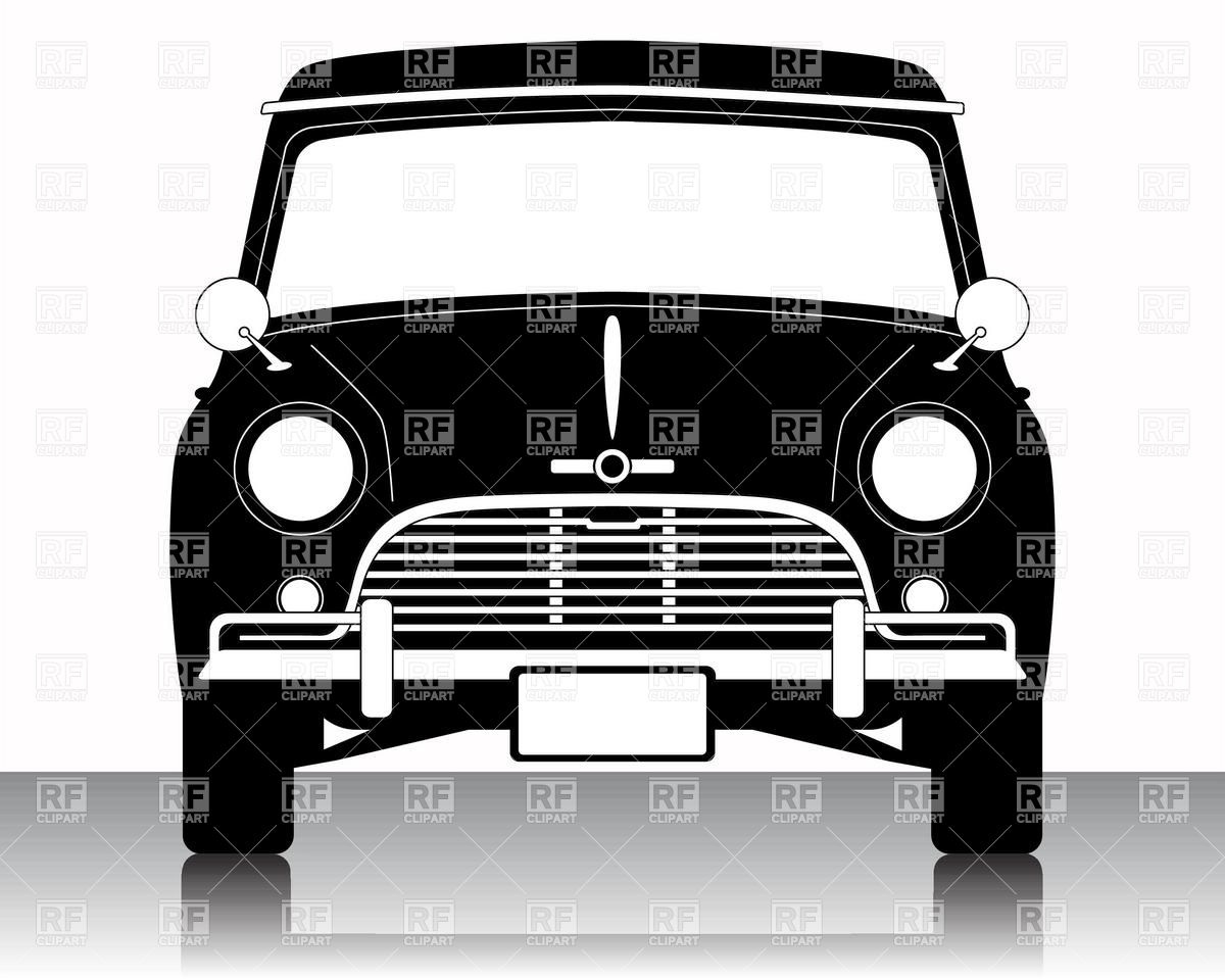 1200x960 Old Small Car Silhouette