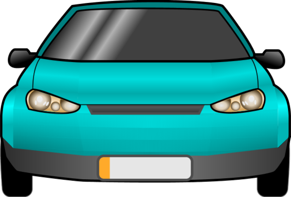 600x407 Collection Of Car Front Clipart High Quality, Free Cliparts