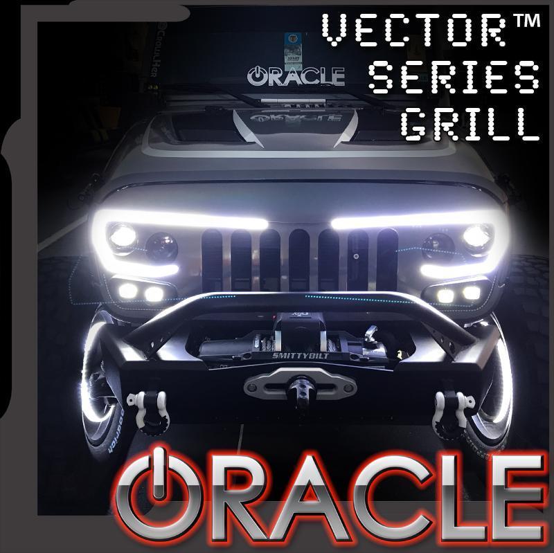 800x799 Oracle Lighting Series Full Led Grill Jeep Wrangler Jk