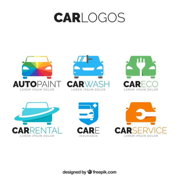 626x626 Pack Of Colored Car Logos Vector Free Download