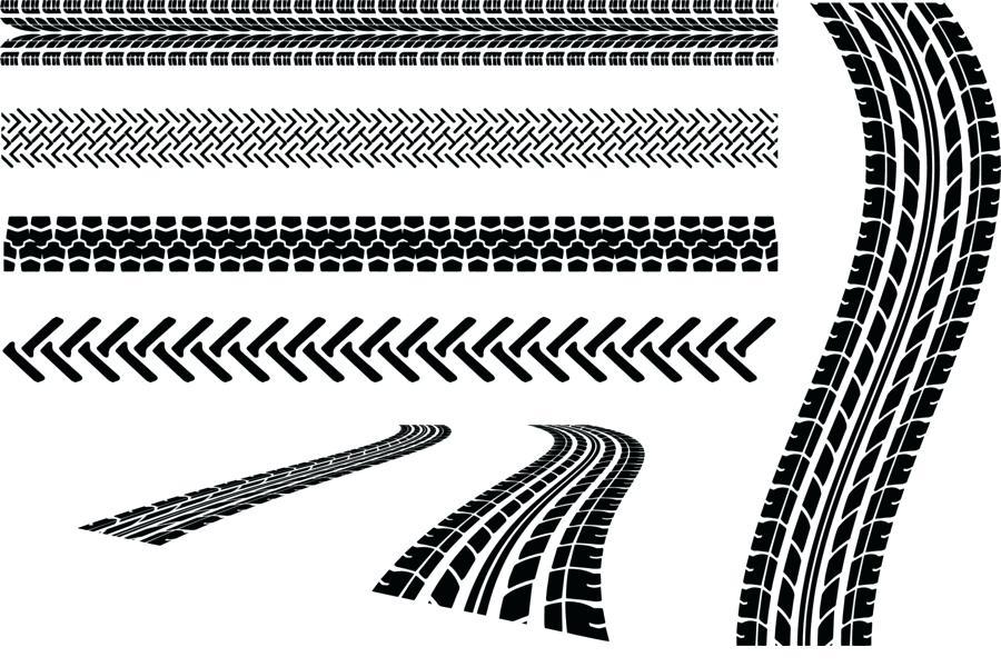 900x600 Tire Mark Car Tire Skid Mark Tread Vector Brake Tire Marks On