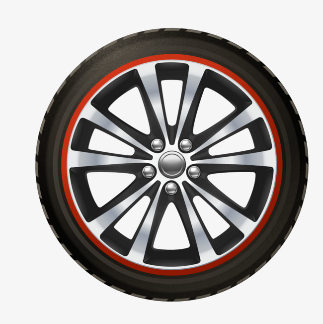 650x651 Black Car Tire Texture, Black, Car, Tire Png And Vector For Free