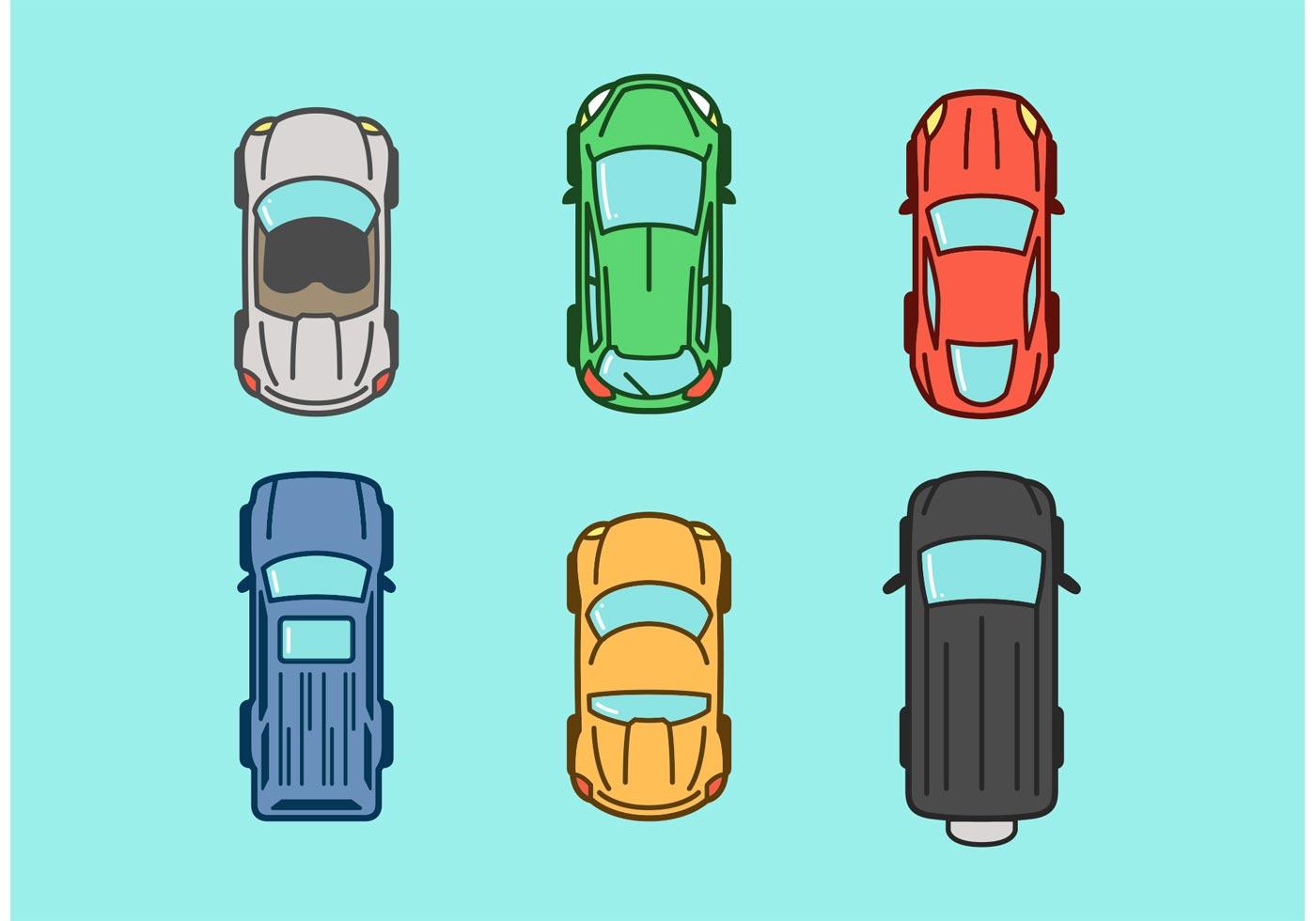 Car Top Vector