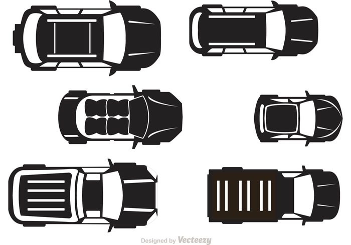 700x490 Free Vector Cars Topview Vector