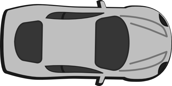 600x300 Red Car Top View 0d Clip Art