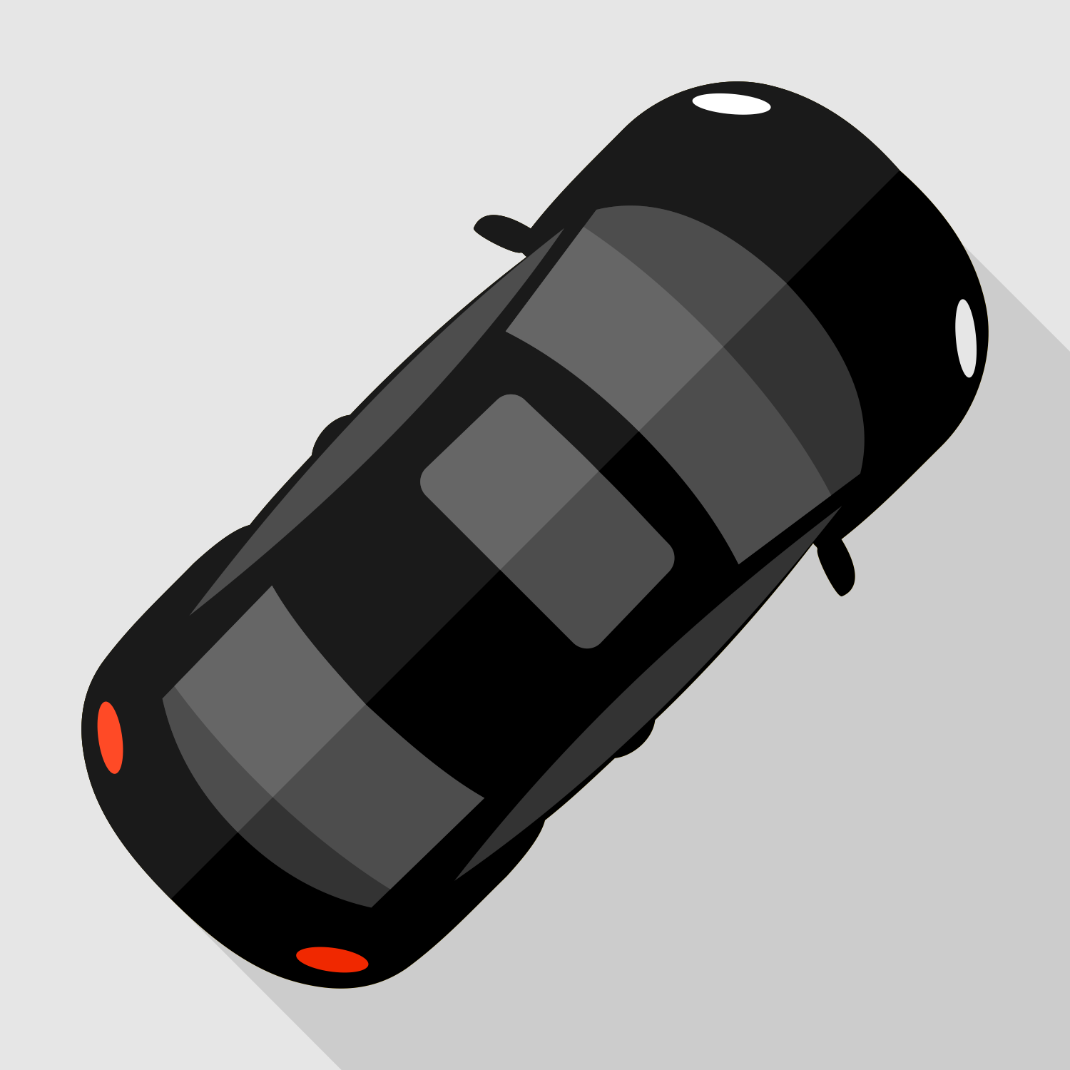 1500x1500 Vector For Free Use Car Top View Vector