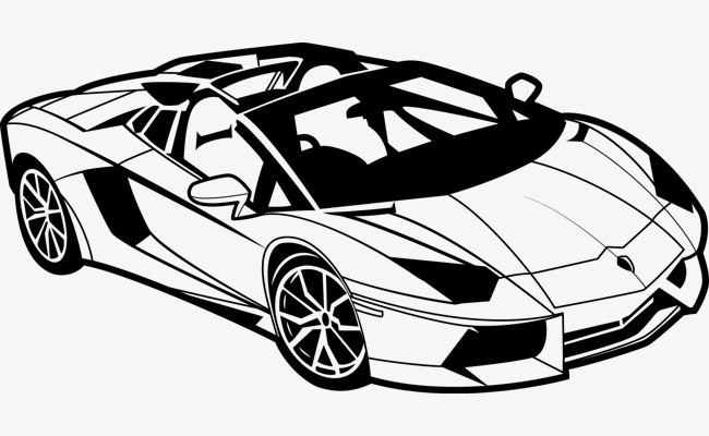 650x400 Vector Car, Car Clipart, Sports Car, Vector Png And Vector For
