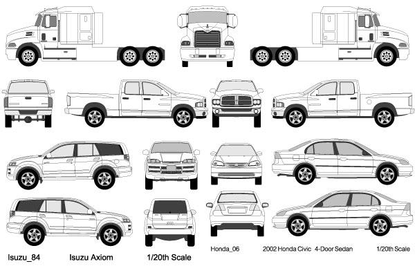 600x385 Cars, Trucks, Van Vectors Download Free Vector Art Free Vectors