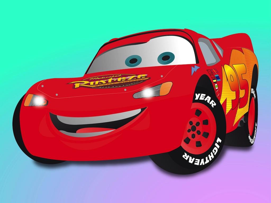 1024x768 Cars Cartoon Vector