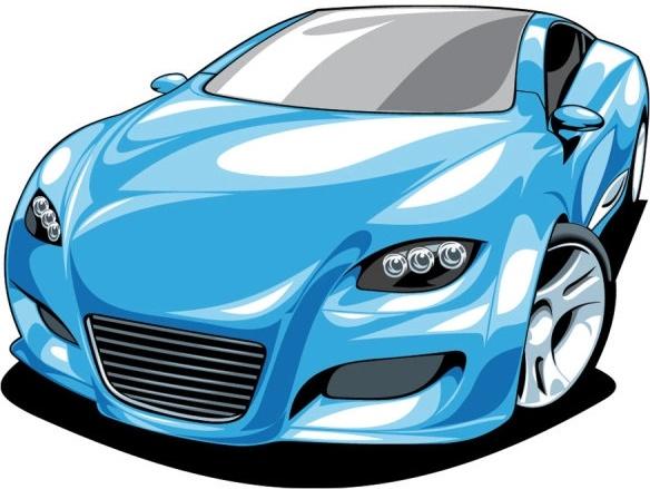 584x439 Fine Sports Car 01 Vector Free Vector In Encapsulated Postscript