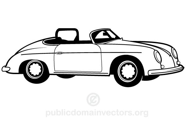 600x400 Free Vintage Car Vector Art Free Vectors Ui Download