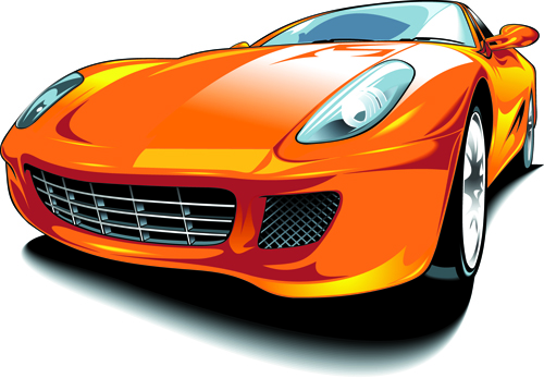 500x347 Set Of Various Sport Cars Vector 04 Free Download