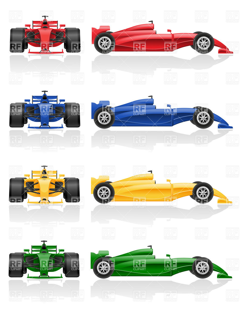 933x1200 Set Of Colorful Racing Cars Vector Image Vector Artwork Of Sport