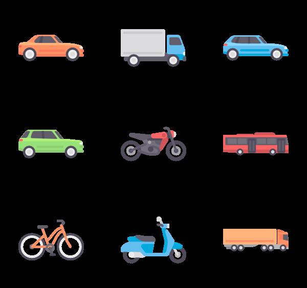 600x564 Car Icons
