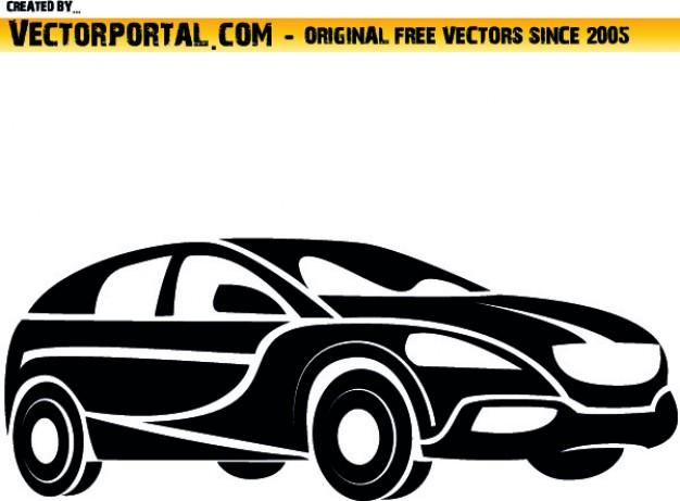 626x461 Vector Clipart Car
