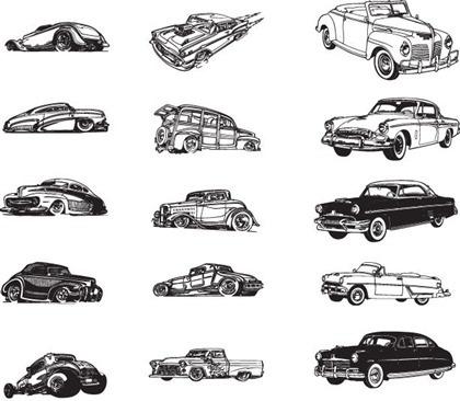 420x366 Vintage Car Vector Free Vector Download (9,089 Free Vector) For