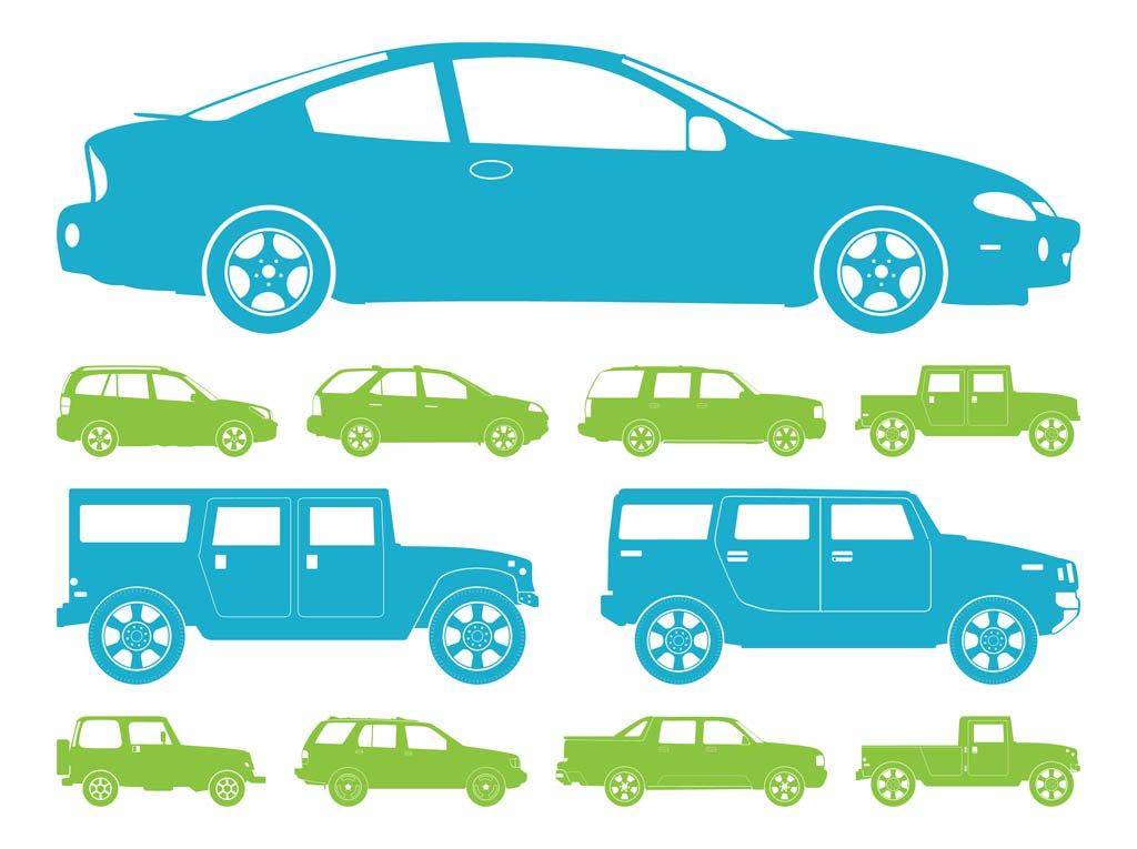 1024x765 Car Silhouettes Graphics Vector Art Amp Graphics