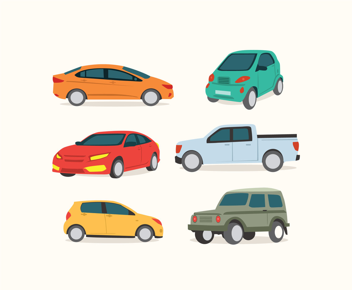 1136x936 Various Cars Vector Vector Art Amp Graphics