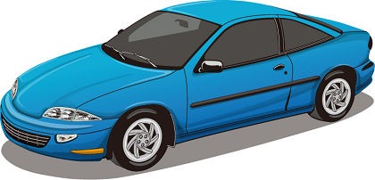 420x202 Blue Car Vector Free Vector Graphics All Free Web Resources