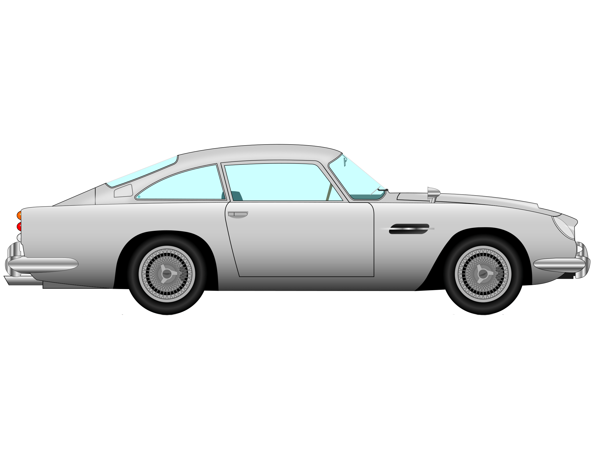 2400x1855 Car Vector Png Clipart
