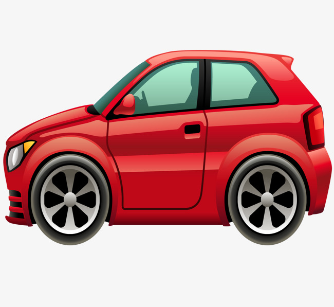 650x597 Cartoon Red Car, Cartoon Vector, Car Vector, Car Clipart Png And