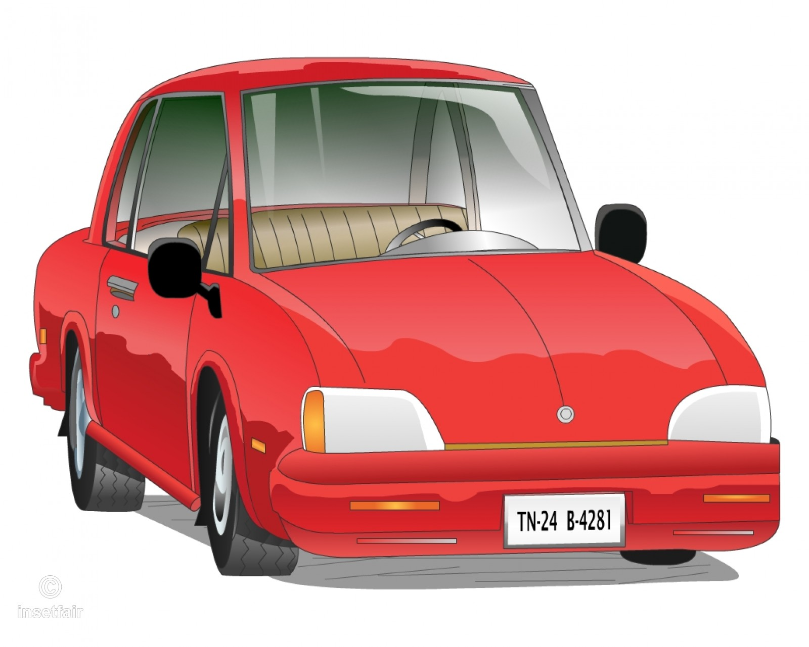 1600x1281 Classic Cartoon Vintage Car Vector Png And Jpg Image