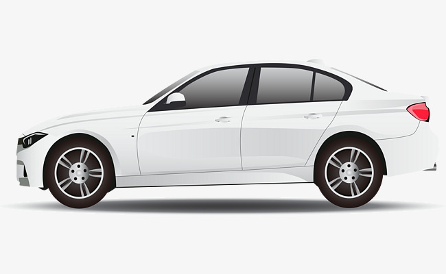 650x400 Luxury White Car, Car Vector, Car Clipart, Vector Png Png And