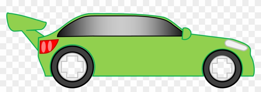 840x298 Simple Sports Car Vector By Mephilesthedark2182