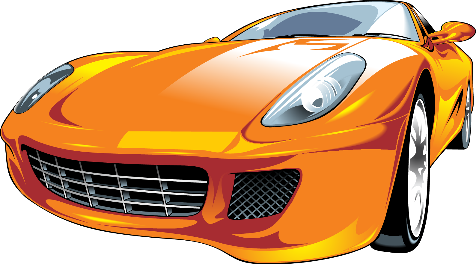 1588x881 Sports Car Vector Motors Corporation Clip Art