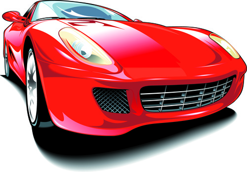 500x347 Sports Car Free Vector Download (4,435 Free Vector) For Commercial
