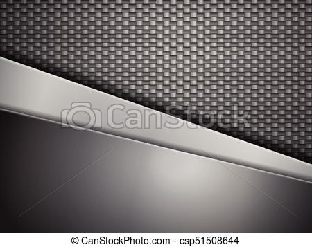 450x357 Carbon Fiber Background. Steel Plates And Carbon Fiber Background.