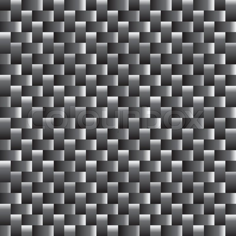 800x800 Carbon Fiber Texture, Bound Crosswise Fibers Background Stock