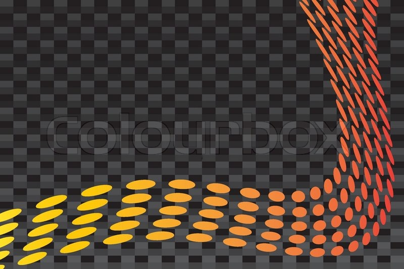 800x533 A Layout With Curved Dots Over A Carbon Fiber Background Texture