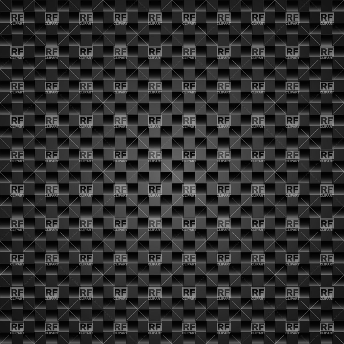 1200x1200 Dark Carbon Fiber Weave Background Or Texture Vector Image