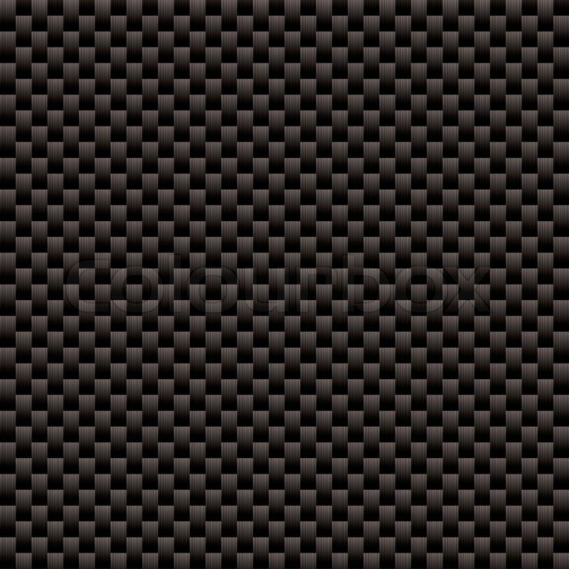 800x800 Seamless Woven Carbon Fiber Illustrated Vector Background With