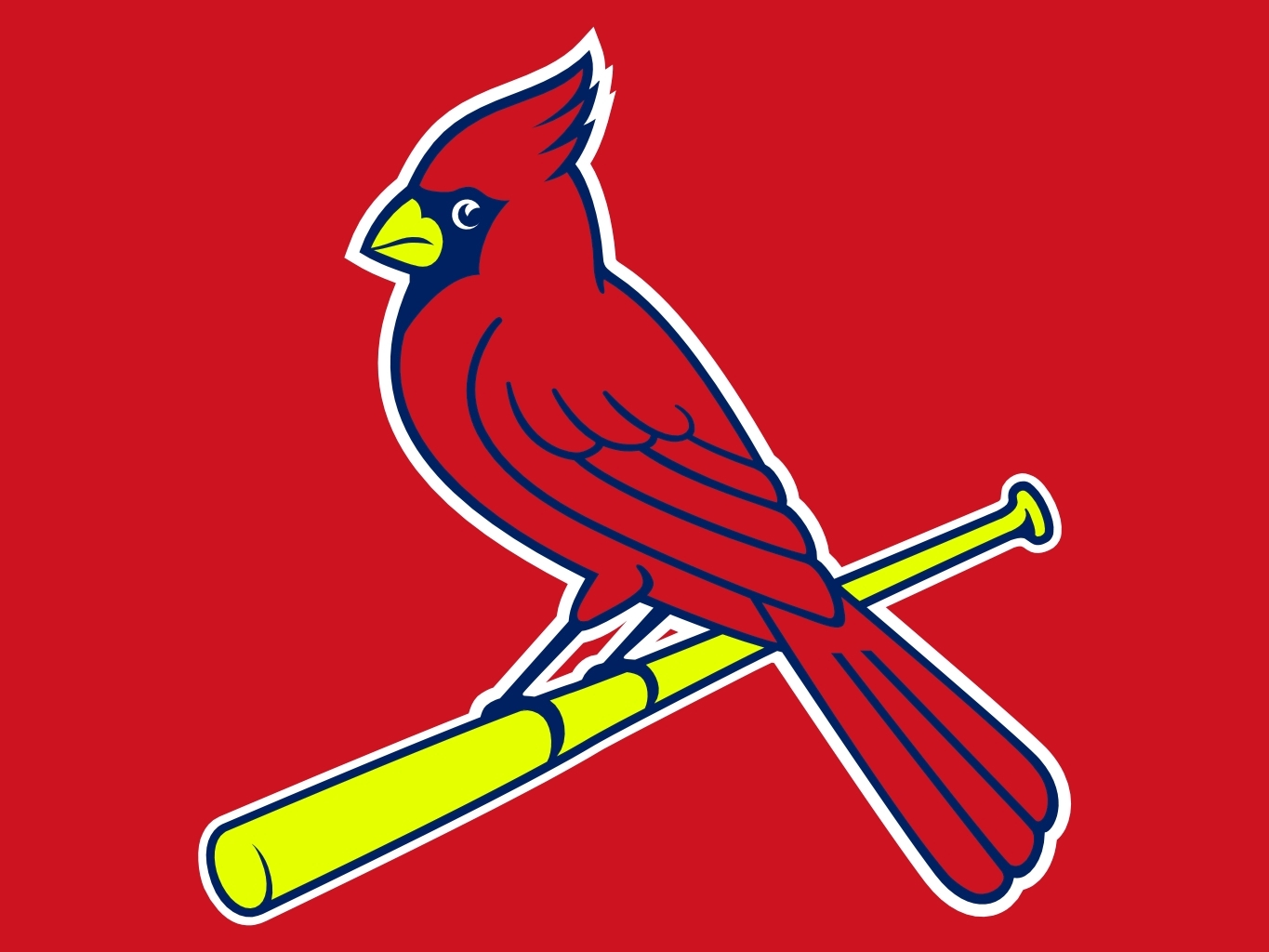 1365x1024 St Louis Cardinals Logo Vector Group With Items