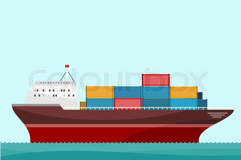 800x532 Cargo Ship Containers Shipping. Delivery Ship, Cargo Container