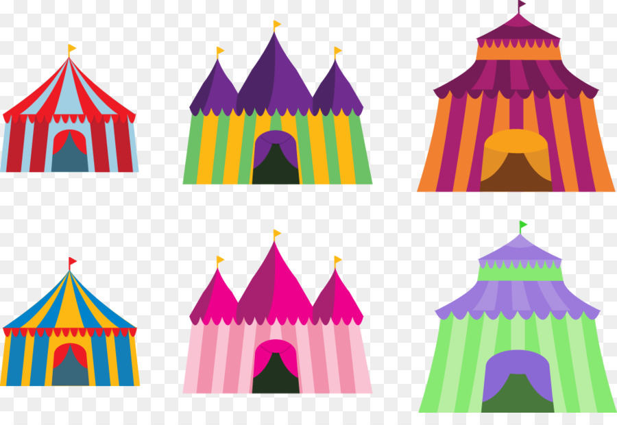900x620 Circus Tent Traveling Carnival Graphic Design