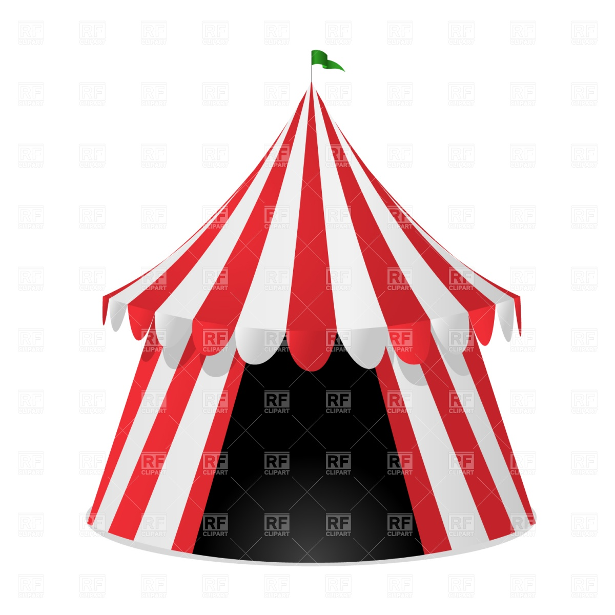 1200x1200 Circus Tent Vector Image Vector Artwork Of Holiday Prague