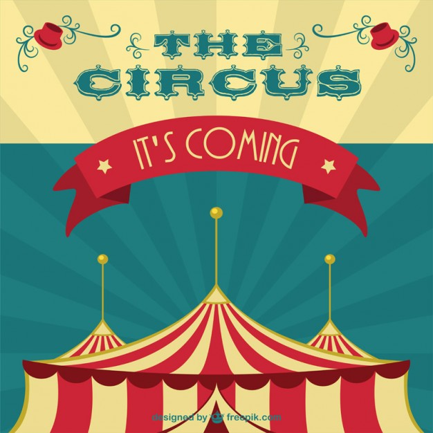 626x626 Circus Tent Background Vector Free Download