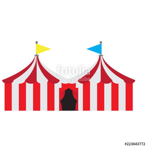500x500 Isolated Carnival Tent Stock Image And Royalty Free Vector Files