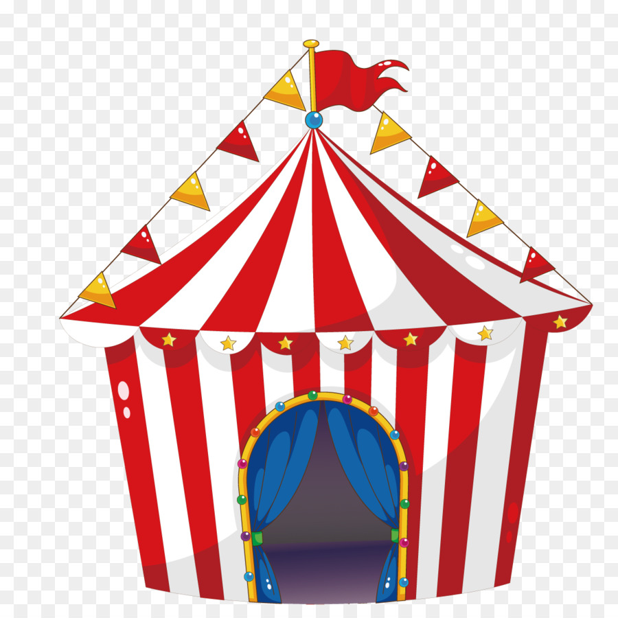 900x900 Tent Circus Carnival Illustration